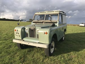 "1966 Land-Rover Series 2A 88"" SWB - 2.25 Petrol For Sale"
