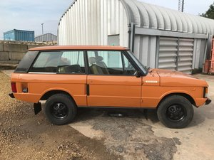 1979 Range Rover 2 door 3.5 V8 For Sale
