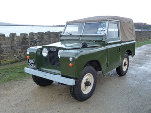 1959 LAND ROVER SERIES II - soft top SOLD