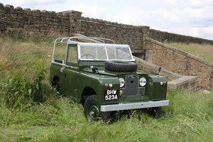 1963 LAND ROVER SERIES IIA – 3 OWNERS FROM NEW For Sale