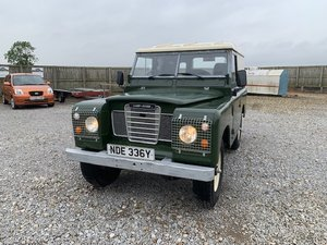 1983 Land Rover® Series 3 *Galvanised Chassis* (NDE)  SOLD