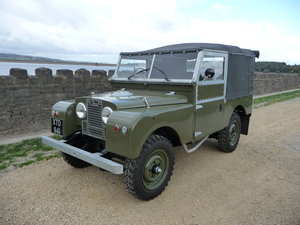 LAND ROVER SERIES 1- 86 INCH