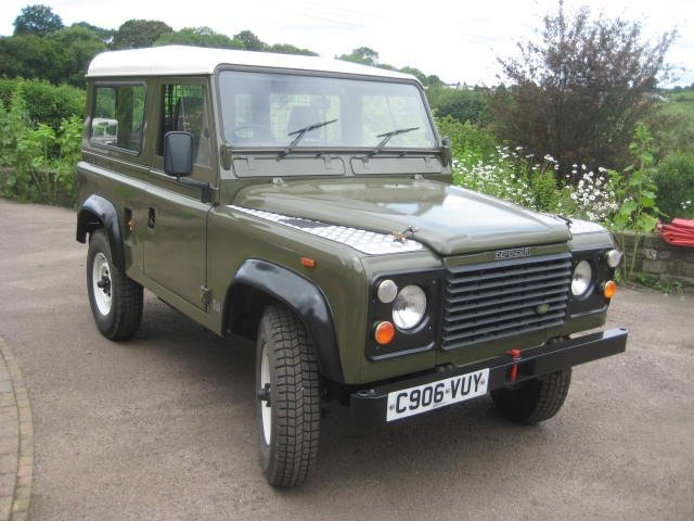 1986 Land Rover 90 Ex MOD  SOLD (picture 1 of 6)