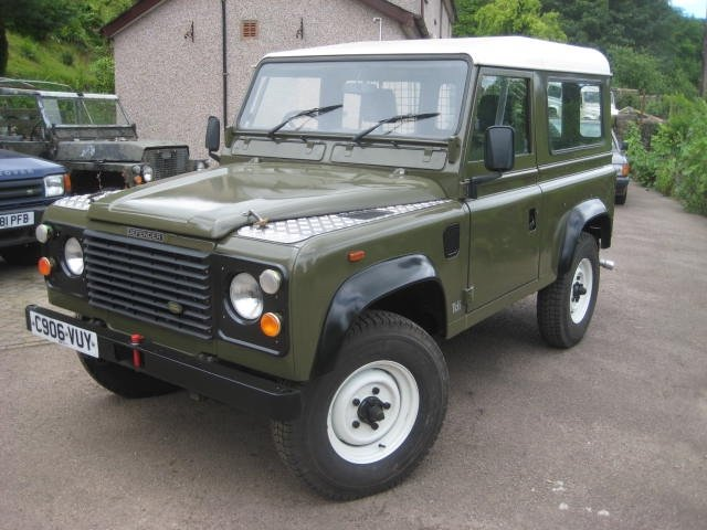 1986 Land Rover 90 Ex MOD  SOLD (picture 2 of 6)