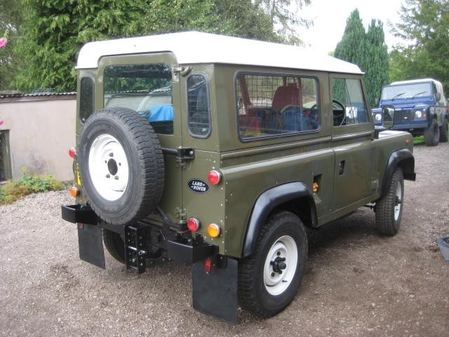 1986 Land Rover 90 Ex MOD  SOLD (picture 3 of 6)