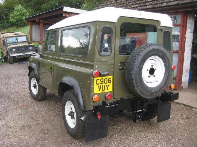 1986 Land Rover 90 Ex MOD  SOLD (picture 4 of 6)