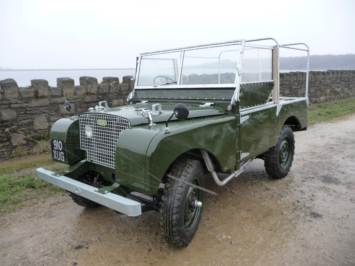 1949 LAND ROVER SERIES 1 - 80 inch For Sale (picture 2 of 9)