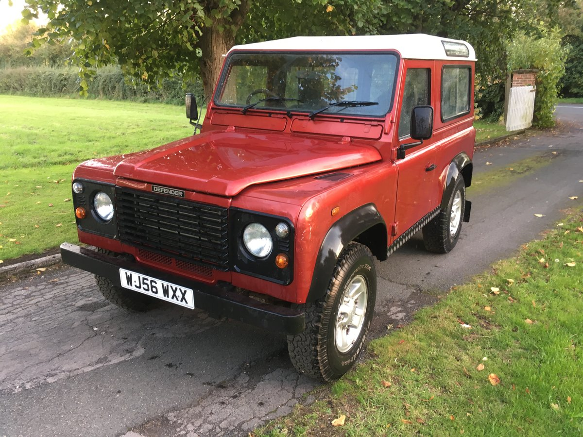 2006 Land Rover Defender 90 Factory Station Wagon For Sale (picture 1 of 6)