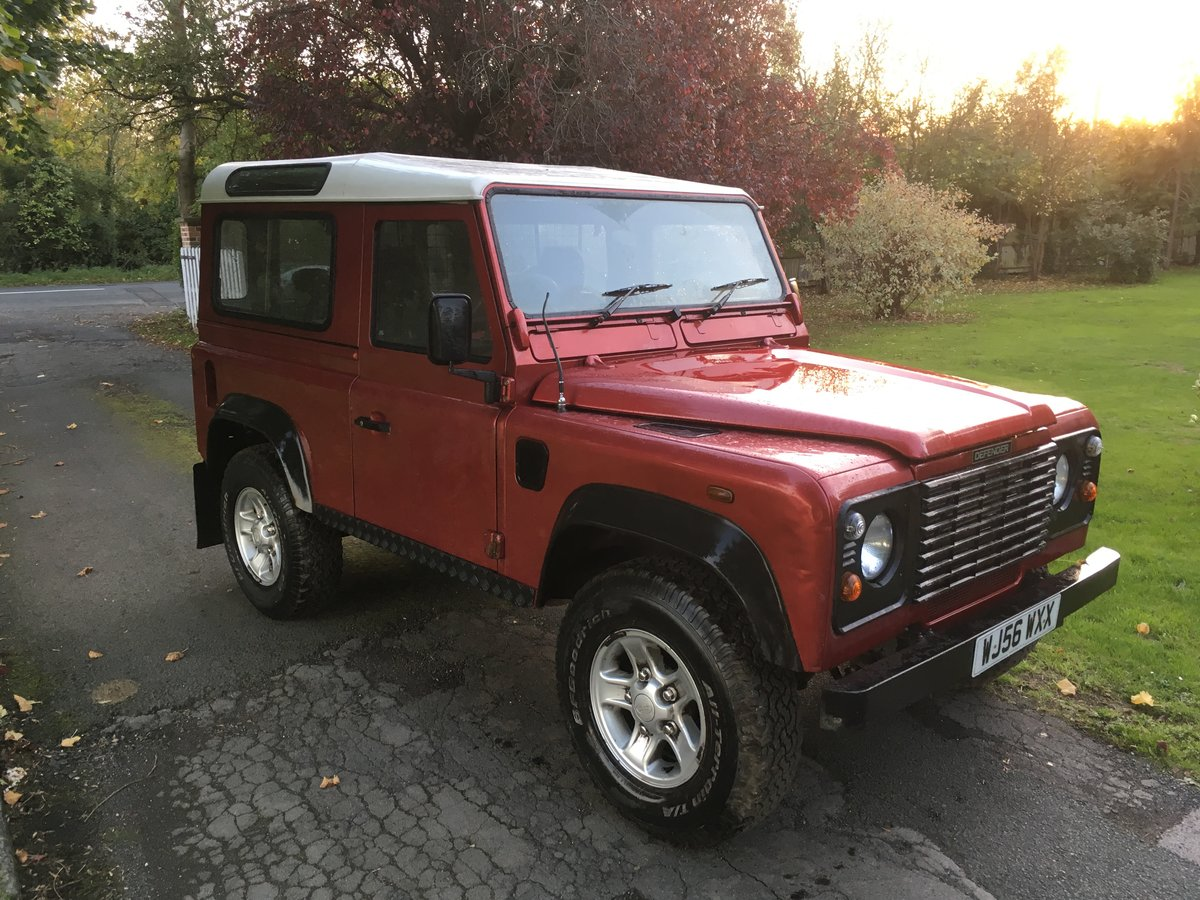 2006 Land Rover Defender 90 Factory Station Wagon For Sale (picture 2 of 6)