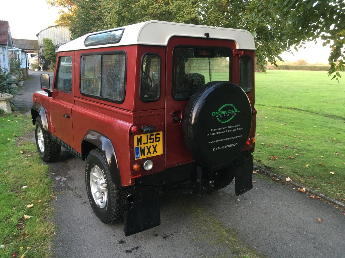 2006 Land Rover Defender 90 Factory Station Wagon For Sale (picture 3 of 6)