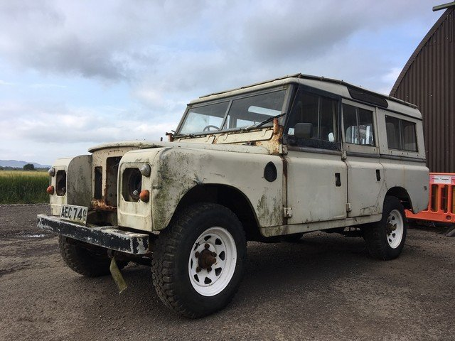 1978 Land Rover 109'' at Morris Leslie Auction 17th August SOLD by Auction (picture 1 of 2)