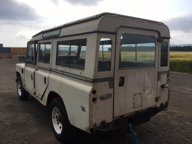 1978 Land Rover 109'' at Morris Leslie Auction 17th August SOLD by Auction (picture 2 of 2)