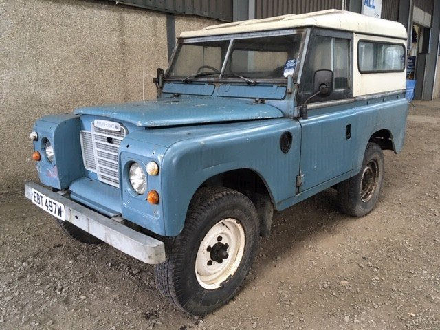 1980 Land Rover 88'' at Morris Leslie Auction 17th August  SOLD by Auction (picture 1 of 6)