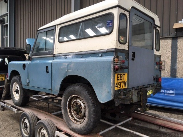 1980 Land Rover 88'' at Morris Leslie Auction 17th August  SOLD by Auction (picture 2 of 6)
