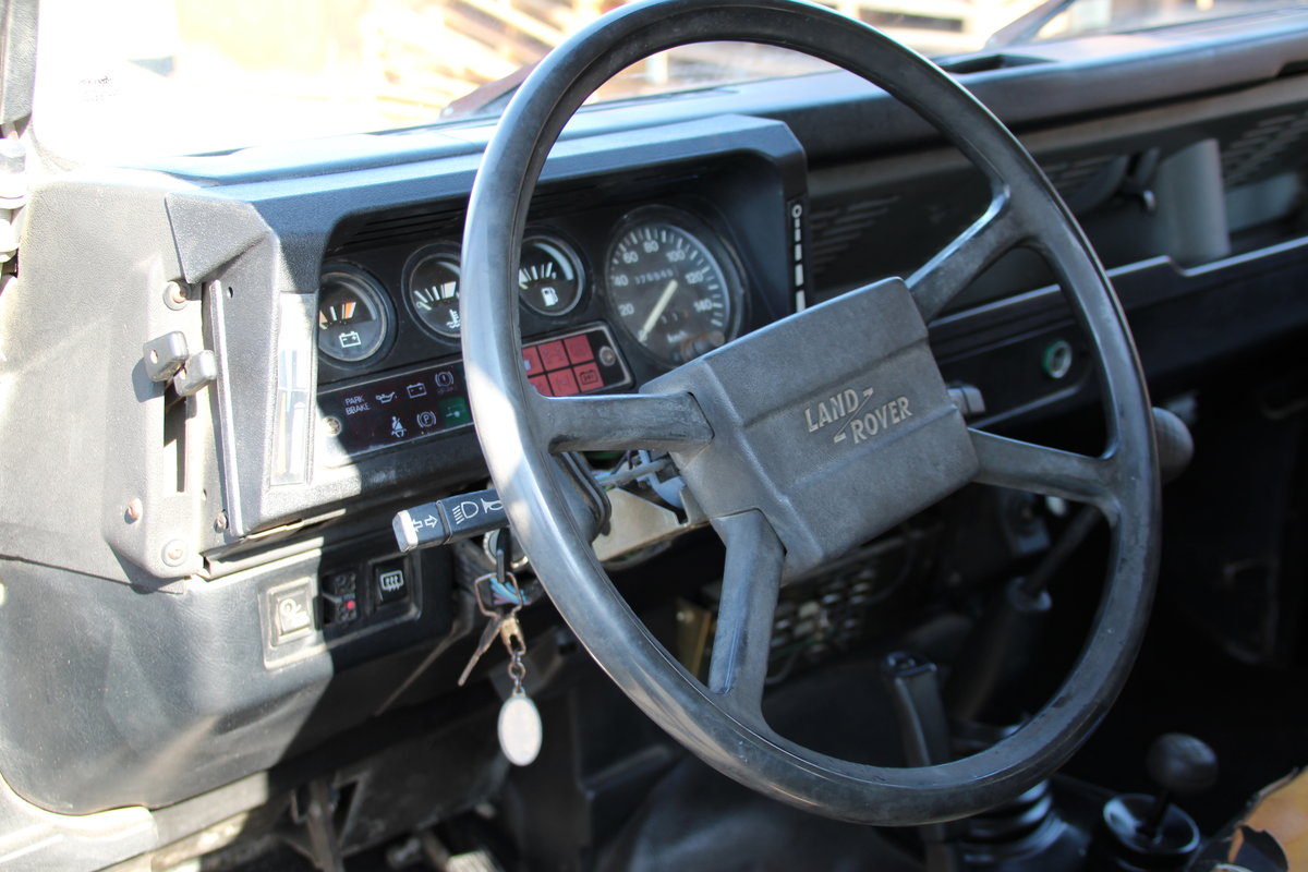 1987 Land Rover Defender 90 2.5TD LHD  For Sale (picture 4 of 6)