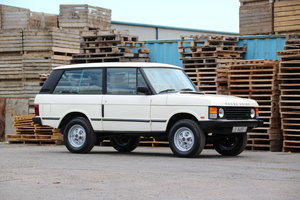 1988 Rover Range Rover Turbo D 2 Door