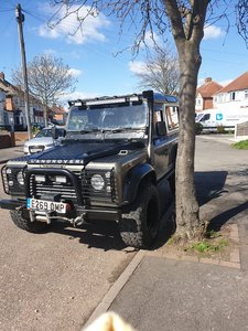 1988 Beautiful Land Rover defender
