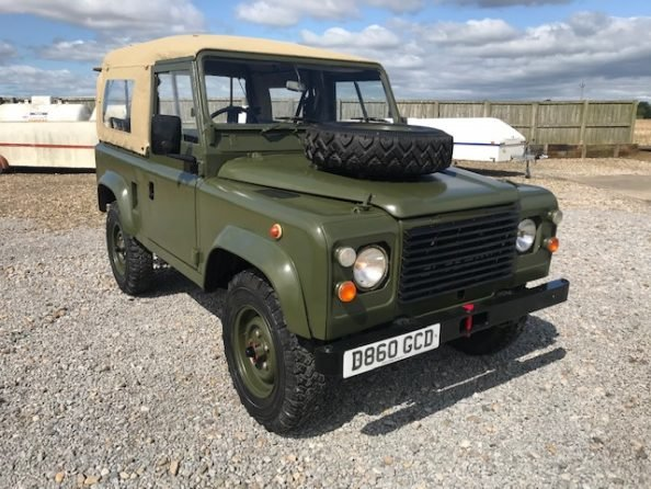 1986 Land Rover® 90 *Soft Top* (GCD) RESERVED SOLD (picture 1 of 6)