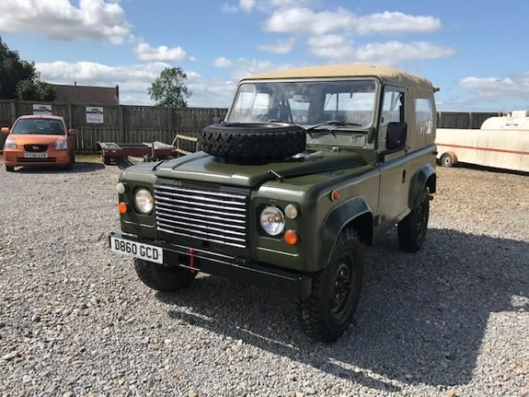 1986 Land Rover® 90 *Soft Top* (GCD) RESERVED SOLD (picture 2 of 6)
