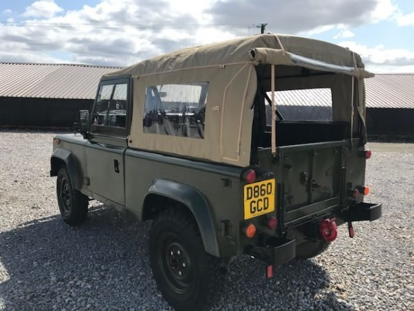 1986 Land Rover® 90 *Soft Top* (GCD) RESERVED SOLD (picture 3 of 6)