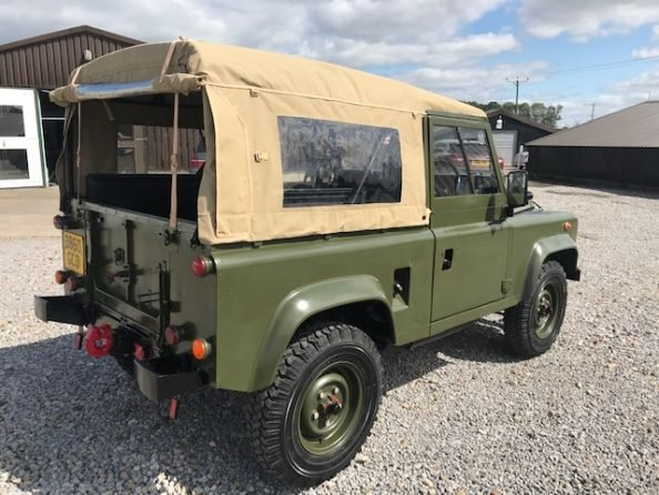 1986 Land Rover® 90 *Soft Top* (GCD) RESERVED SOLD (picture 4 of 6)