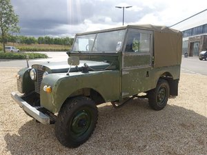 1957 Landrover Series 1 SWB SOLD by Auction