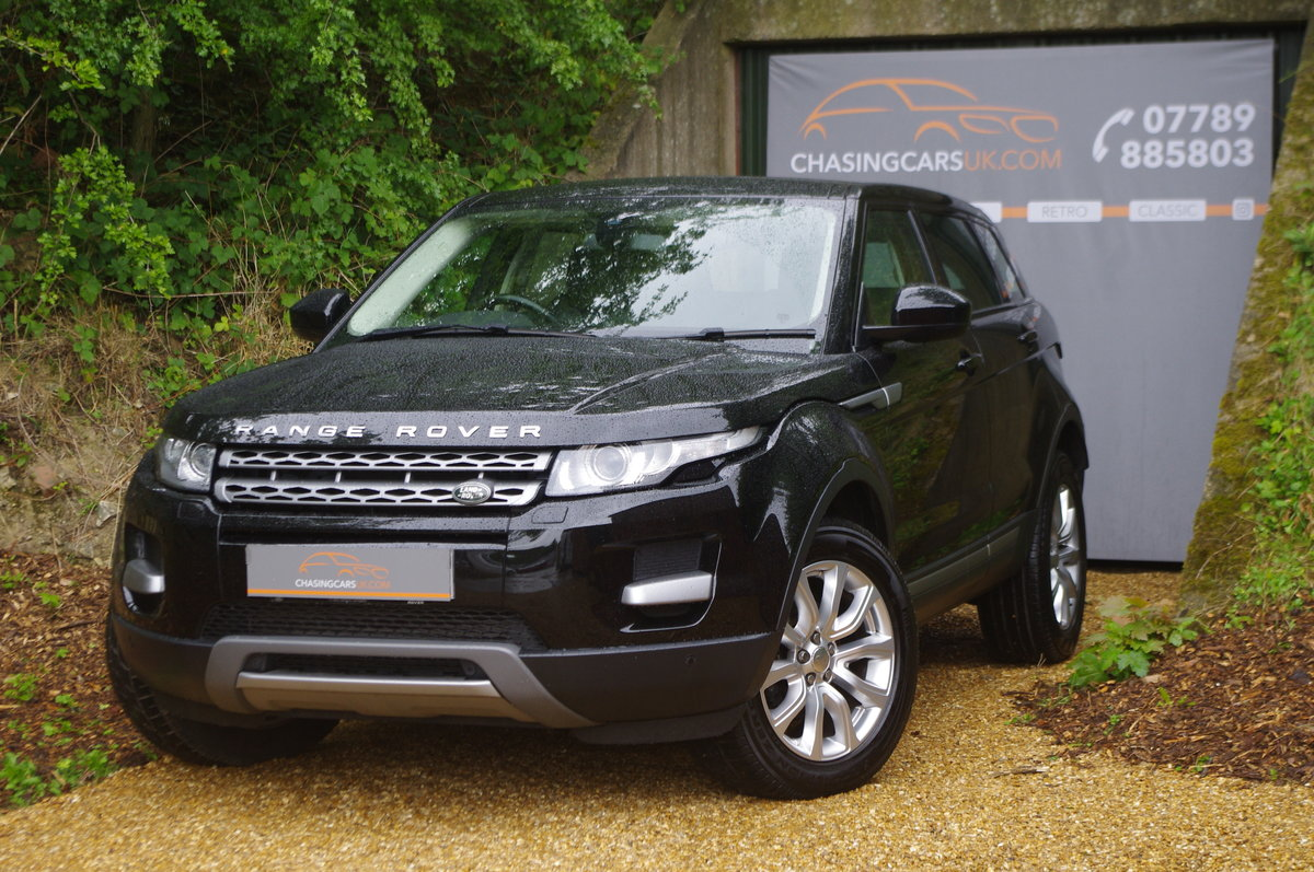 2014 Evoque 2.2 SD4 Pure Tech 5 Dr SUV 1 Owner F.S.H. For Sale (picture 1 of 6)