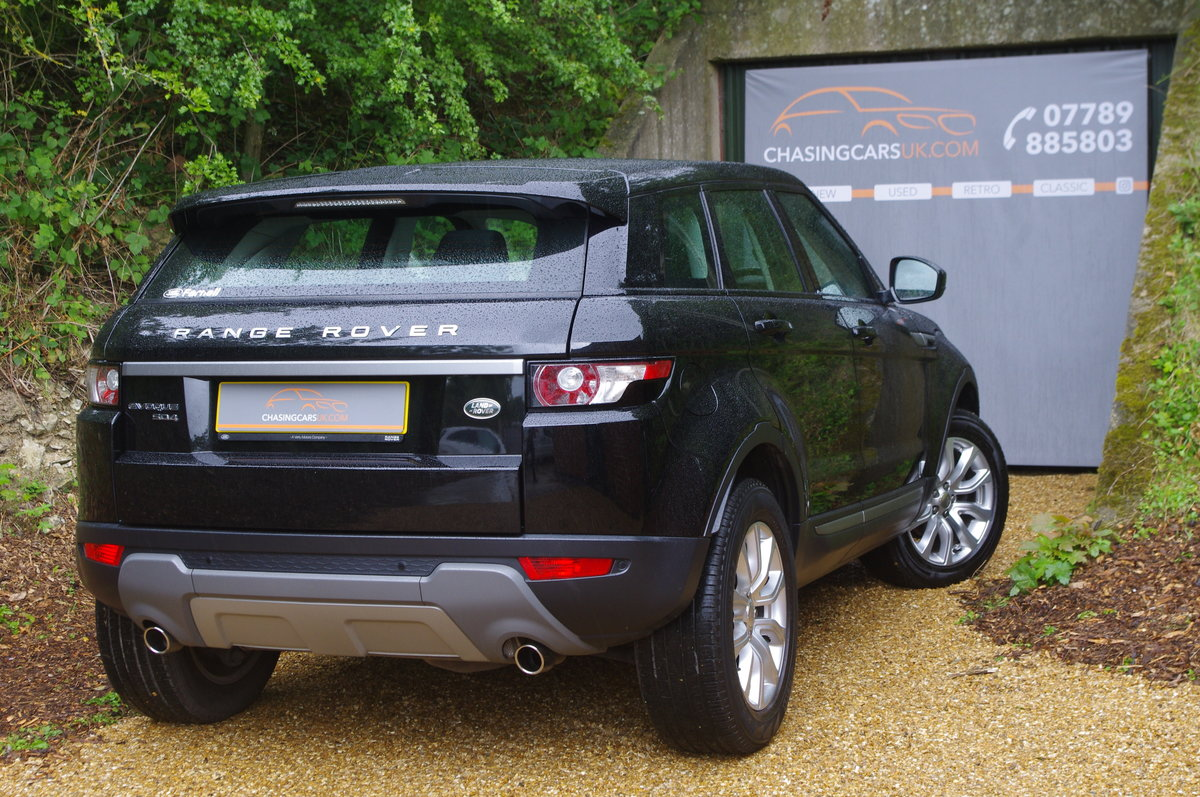 2014 Evoque 2.2 SD4 Pure Tech 5 Dr SUV 1 Owner F.S.H. For Sale (picture 2 of 6)