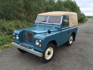 1969 Series 2A Land Rover rebuilt on own chassis