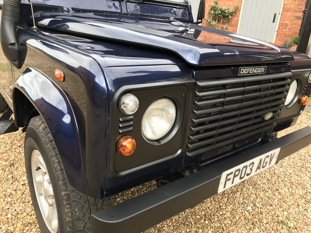 2003 Land Rover Defender 90 Td5 County Pack Hard Top For Sale (picture 6 of 6)