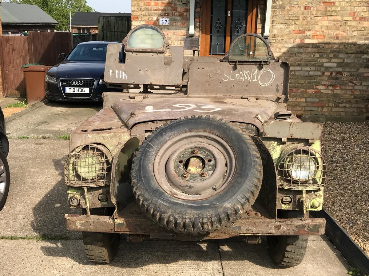 1952 Land Rover ser1  Armoured sas vehicle  For Sale (picture 1 of 6)