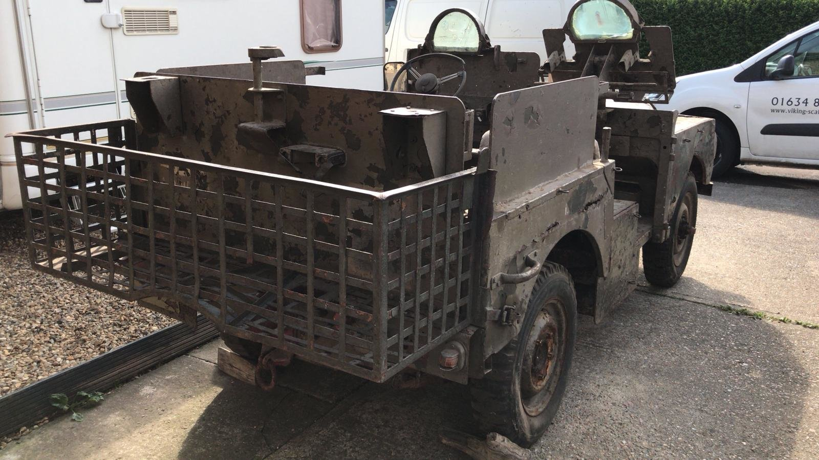 1952 Land Rover ser1  Armoured sas vehicle  For Sale (picture 3 of 6)