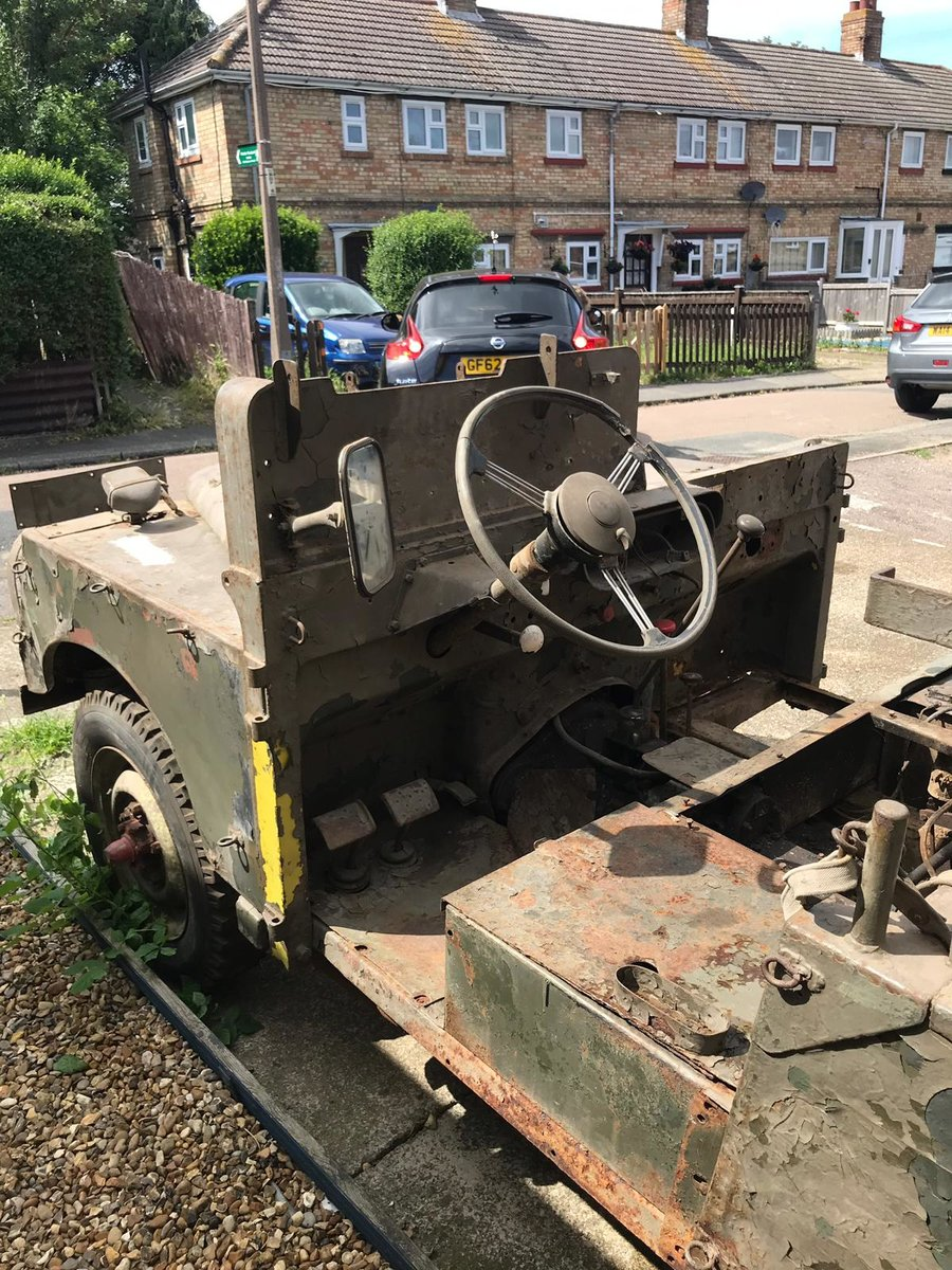 1952 Land Rover ser1  Armoured sas vehicle  For Sale (picture 4 of 6)