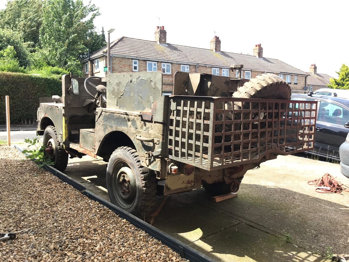 1952 Land Rover ser1  Armoured sas vehicle  For Sale (picture 6 of 6)