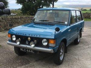 1972 Range Rover Classic  (A suffix)
