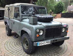 1987 LAND ROVER 110 DEFENDER 4X4 UTILITY For Sale by Auction