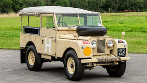 1956 LAND ROVER SERIES I 4X4 MILITARY VEHICLE For Sale by Auction