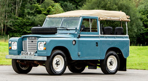 1984 LAND ROVER SERIES III 4X4 UTILITY For Sale by Auction