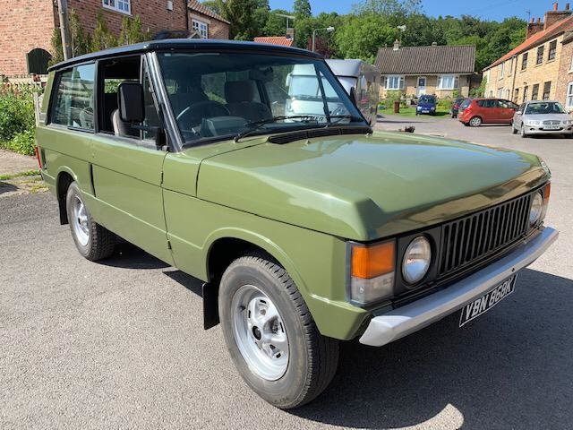 1972 Classic Range Rover Suffix A SOLD (picture 3 of 6)