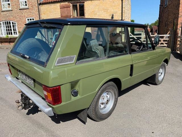 1972 Classic Range Rover Suffix A SOLD (picture 6 of 6)
