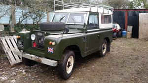 1965 2a Land Rover-Swap Moggy 1000 Traveller