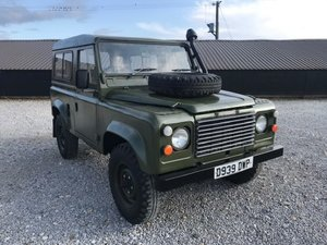 1986 Land Rover 90 ® in Drab Olive (DWP)