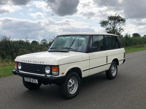 1990 Land Rover Range Rover Classic Turbo Diesel 2 Door LHD SOLD