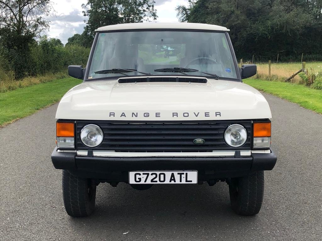 1990 Land Rover Range Rover Classic Turbo Diesel 2 Door LHD For Sale (picture 2 of 6)