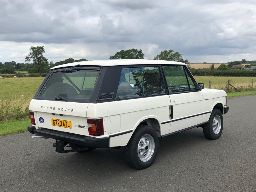 1990 Land Rover Range Rover Classic Turbo Diesel 2 Door LHD For Sale (picture 4 of 6)