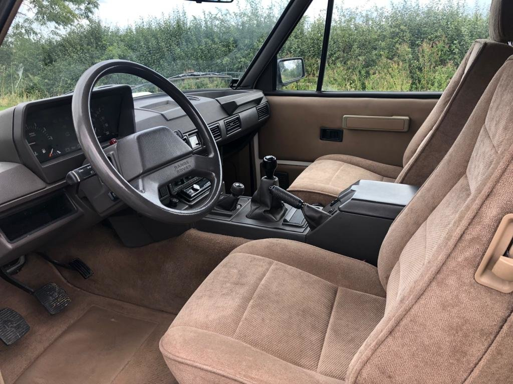 1990 Land Rover Range Rover Classic Turbo Diesel 2 Door LHD For Sale (picture 5 of 6)