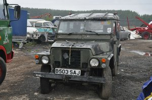 1994 LAND ROVER LIGHTWEIGHT 4X4 UTILITY DEFENDER 90 SERIES 3 For Sale