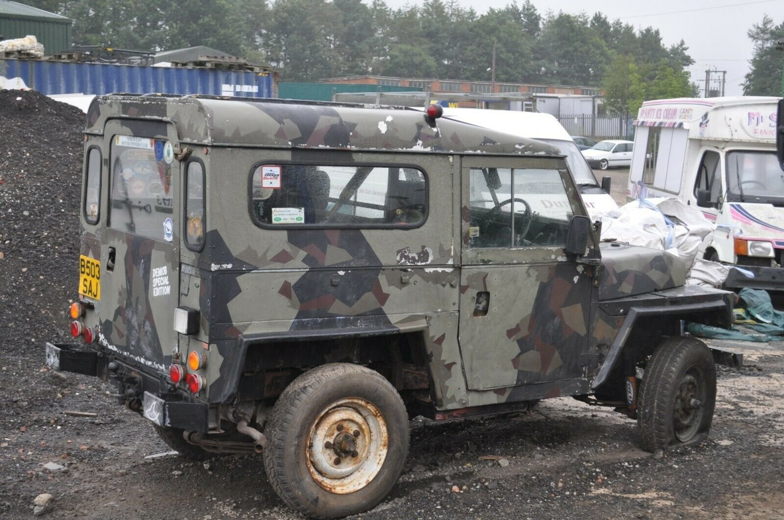 1994 LAND ROVER LIGHTWEIGHT 4X4 UTILITY DEFENDER 90 SERIES 3 SOLD (picture 6 of 6)