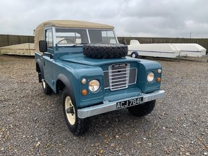 1971 Land Rover® Series 3 *BOND EDITION* (ACJ) RESERVED SOLD