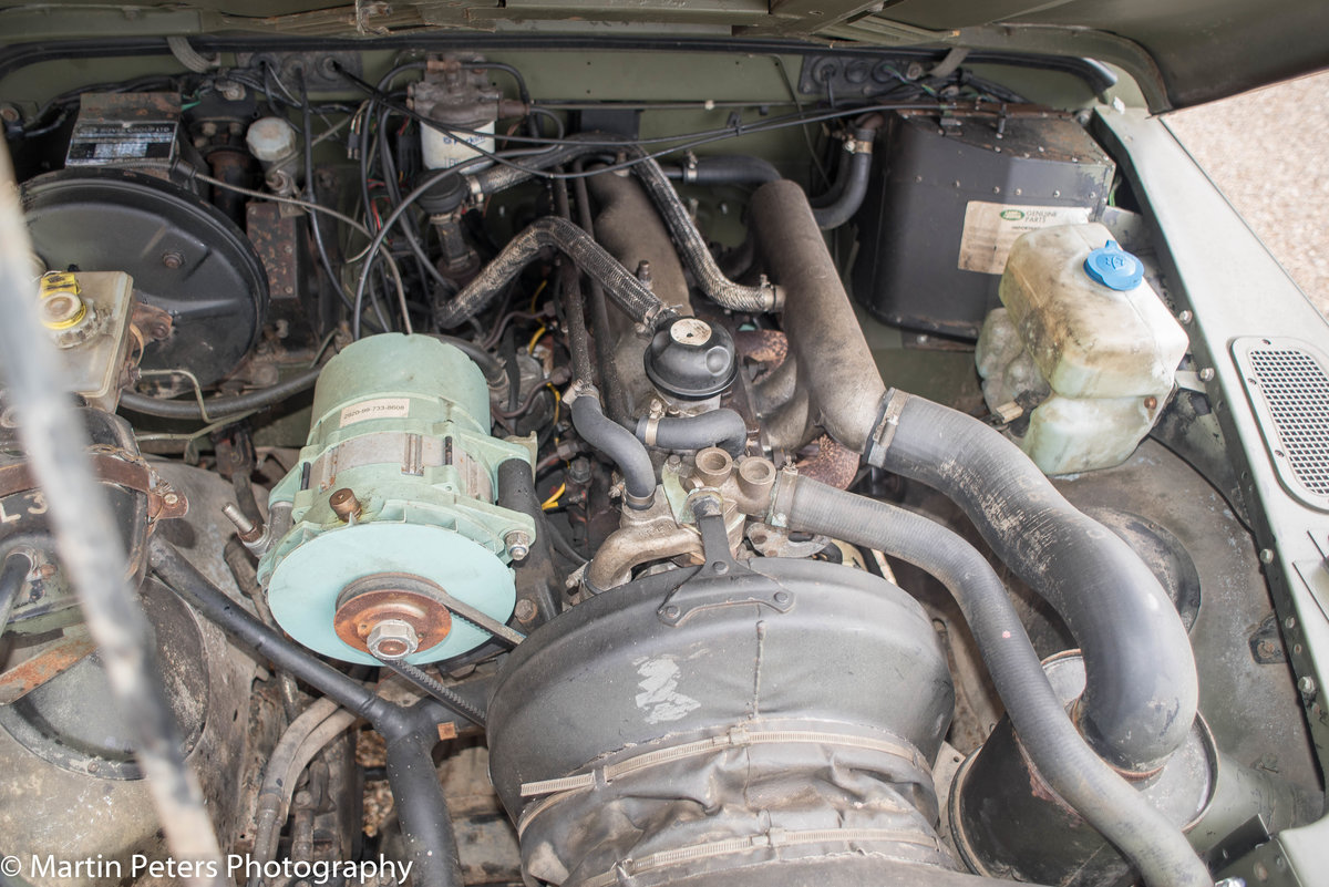 1990 Landrover Defender Military FFR For Sale (picture 7 of 24)